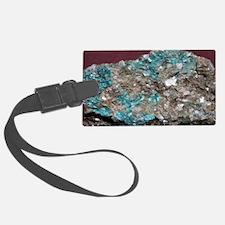 Cuprocassiterite in quartz mica  Luggage Tag