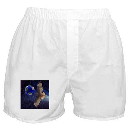 Night Hawk World Boxer Shorts