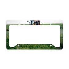 Crop spraying License Plate Holder
