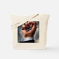 Credit crunch, conceptual image Tote Bag