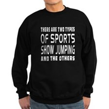 Show Jumping Designs Sweatshirt