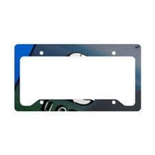 Credit card microchip License Plate Holder