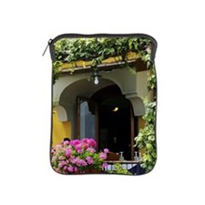 Balcony with flowers and plants iPad Sleeve