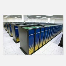 Cray XT4 supercomputer cl Postcards (Package of 8)