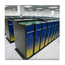 Cray XT4 supercomputer cluster Tile Coaster