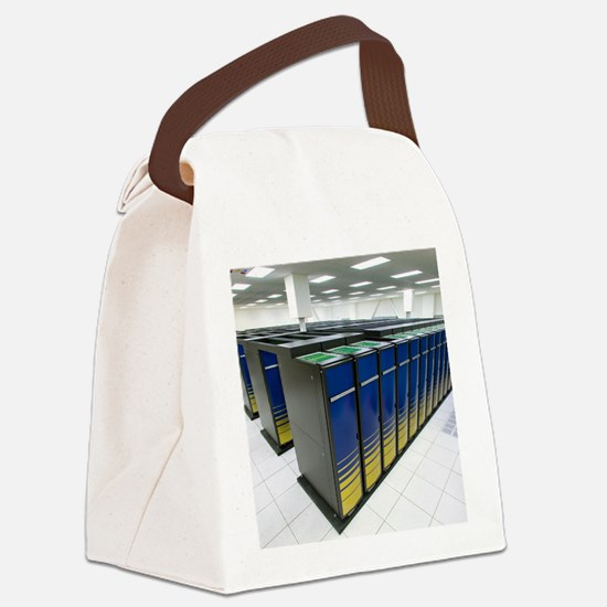 Cray XT4 supercomputer cluster Canvas Lunch Bag