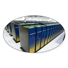 Cray XT4 supercomputer cluster Decal