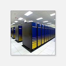 "Cray XT4 supercomputer clus Square Sticker 3"" x 3"""