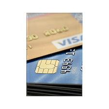 Credit cards Rectangle Magnet