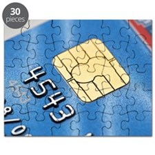 Credit card microchip Puzzle