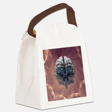 Creation of the human brain, artw Canvas Lunch Bag