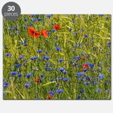 Cornfield meadow in France Puzzle