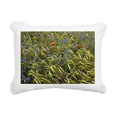 Cornfield meadow in Fran Rectangular Canvas Pillow