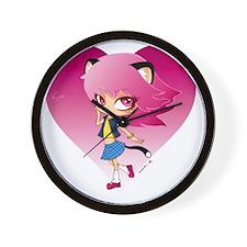 Nyan Love Wall Clock