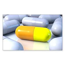 Correct drug treatment, artwor Decal