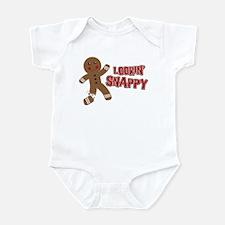Gingerbread Man Snappy Infant Bodysuit