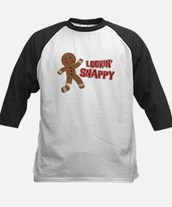 Gingerbread Man Snappy Tee