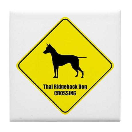 Ridgeback Crossing Tile Coaster