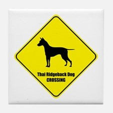 Ridgeback Crossing Tile Coaster