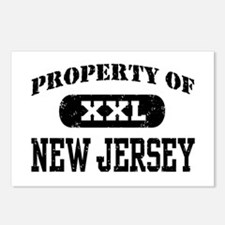 Property of New Jersey Postcards (Package of 8)