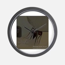 THE FLY mosquitoe Wall Clock