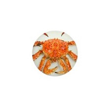 Cooked red king crab Mini Button