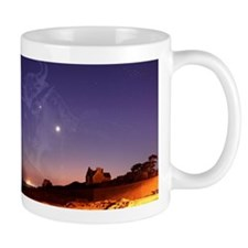Constellations in a night sky Mug