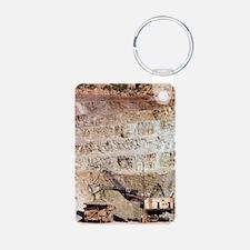 Copper mine excavator and  Keychains