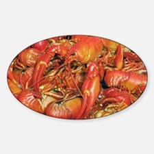 Cooked crayfish Sticker (Oval)