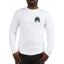 Pocket Peke Long Sleeve T-Shirt
