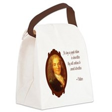 voltaire Canvas Lunch Bag
