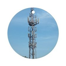 Communication mast Round Ornament