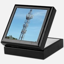 Communication mast Keepsake Box
