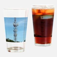 Communication mast Drinking Glass