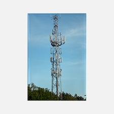Communication mast Rectangle Magnet