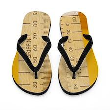 Compressed spring Flip Flops