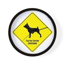 Terrier Crossing Wall Clock