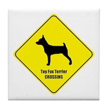 Terrier Crossing Tile Coaster