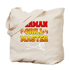 German Grill Master Dark Apron Tote Bag