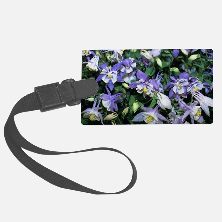 Columbine Luggage Tag