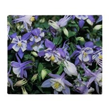 Columbine Throw Blanket