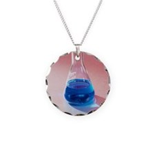 Copper sulphate solution Necklace