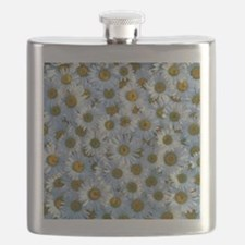 Collection of white daisy flowers Flask