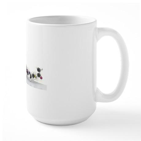 Coenzyme A, molecular model Large Mug