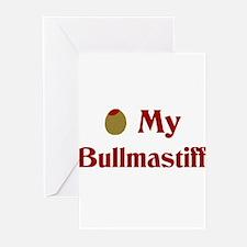 Olive My Bullmastiff Greeting Cards (Pk of 10)