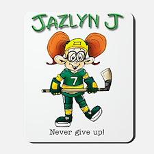 Jazlyn J Mousepad