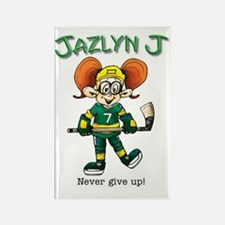 Jazlyn J Rectangle Magnet