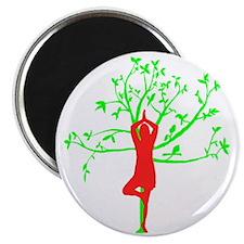 Yoga Tree Pose Magnet