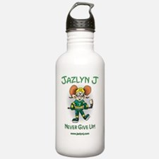 Jazlyn J Never Give up Water Bottle