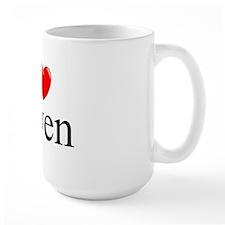 """I Love (Heart) Owen"" Mug"